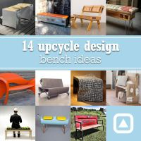 14 upcycle design bench ideas