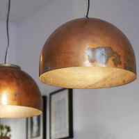 BOILER LIGHT: copper pendant lamp by Indusigns