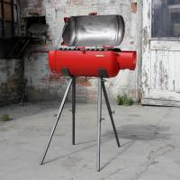 BARBECUE PARADOX: gas tank upcycled by Redolab
