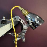 Bicycle Clamp Light by Cycled Up Creations