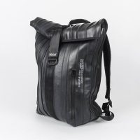 ARCE: Rolltop Backpack made out of Inner Tube by Nukak
