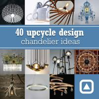 40 upcycle design chandelier ideas