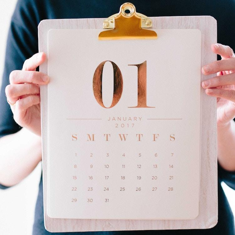 Clipboard Kalender