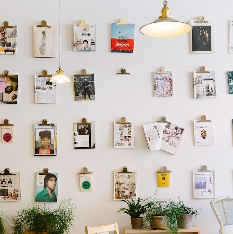 Briefklemmer als Bildhalter
