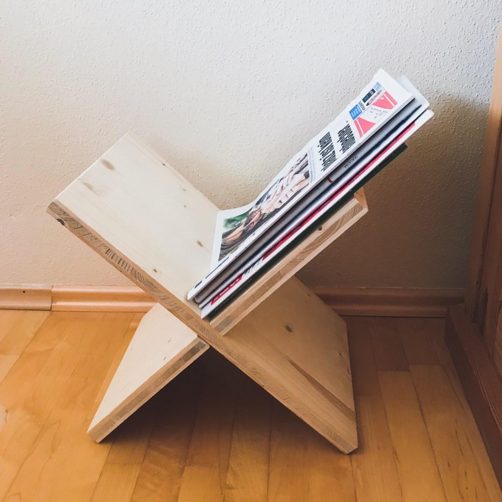 DIY Zeitungsständer