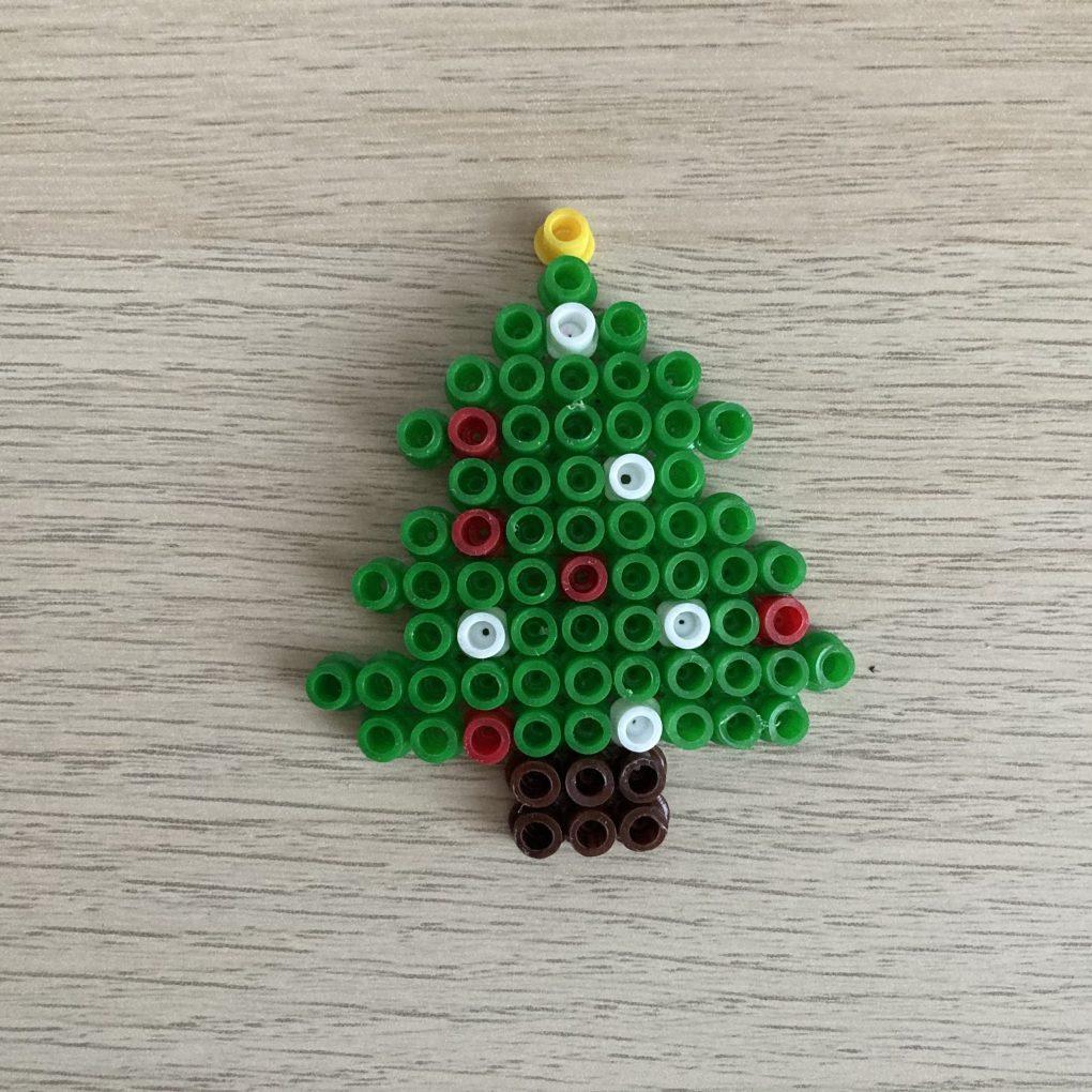 Bügelperlen Weihnachtsbaum