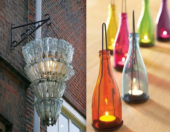 glass bottle upcycles 2 ideas upcycle that
