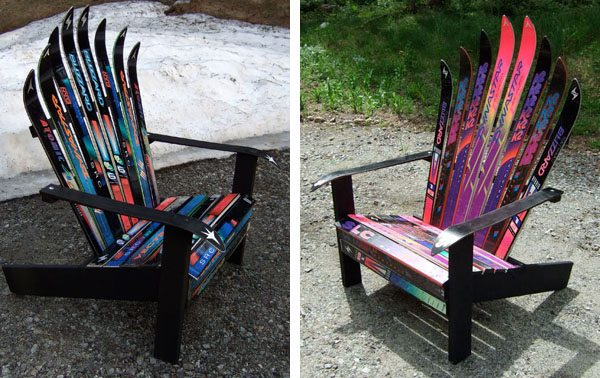 Adirondack Ski Chairs