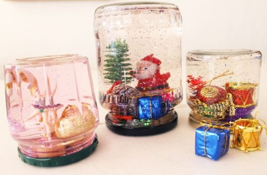 make your own snow globes