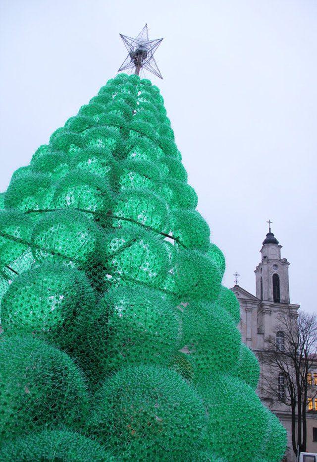 upcycled christmas tree