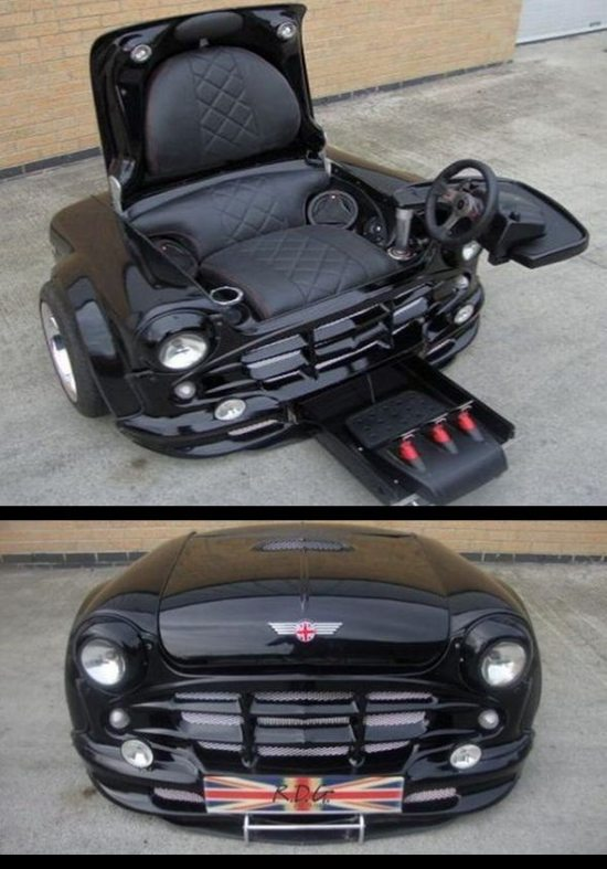 mini cooper chair