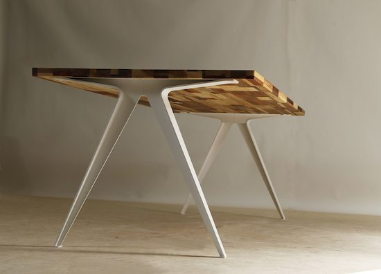 upcycled tables