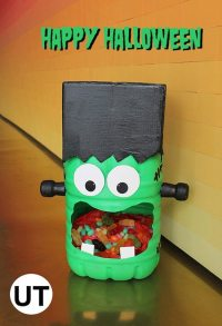 Halloween Candy Holder   Upcycle That