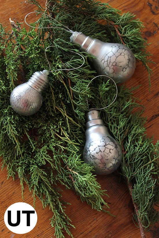 light bulb decorations