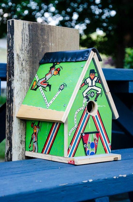 pinball birdhouse