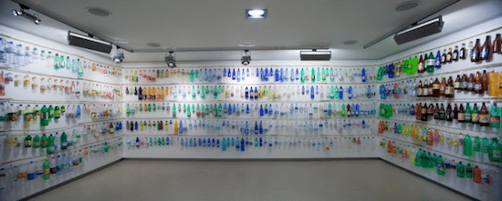 plastic bottle collection