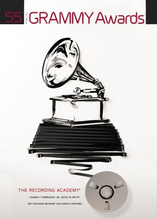 55th Annual Grammy Awards Poster