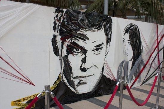 Dexter Comic Con portrait