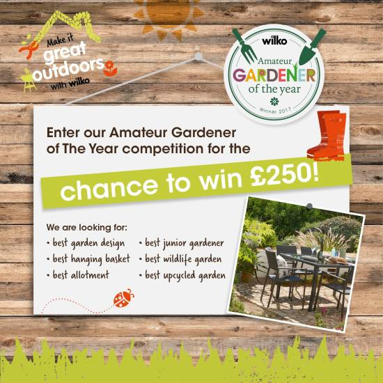 Upcycled garden ideas - Wilko Gardening Competition