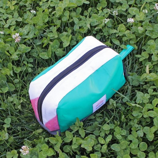 Toastie Pouch – Green, White & Pink