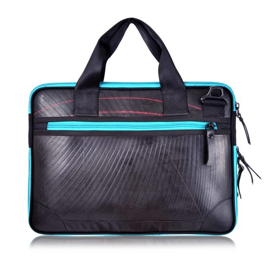 Panther Laptop Case (Turquoise Zip)
