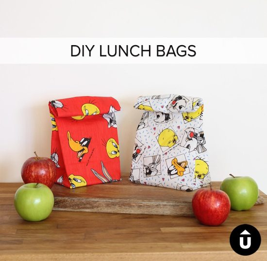 Cute Lunch Bag Tutorial