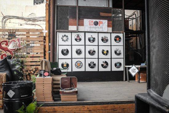 Record clocks - Crop Shop