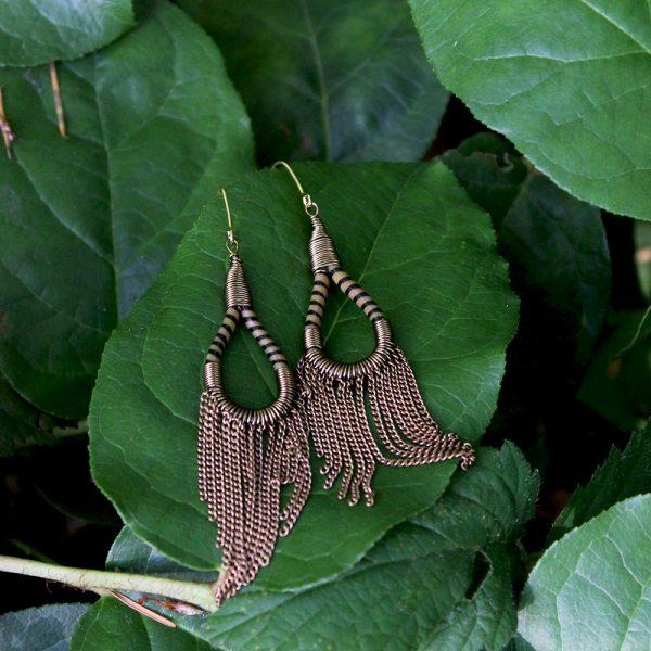 Flip Flop Earrings - Gold
