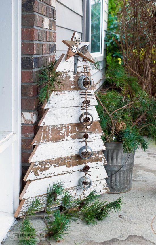 Alternative Christmas Tree - reclaimed wood