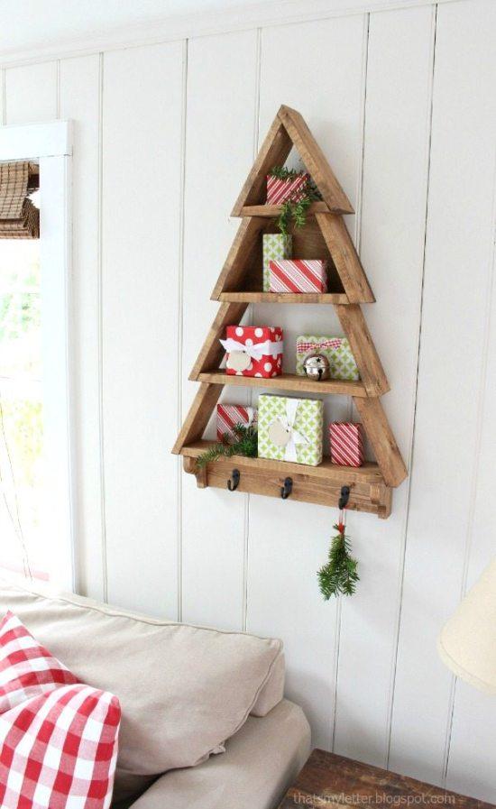 Alternative Christmas Tree - Tree Shelf