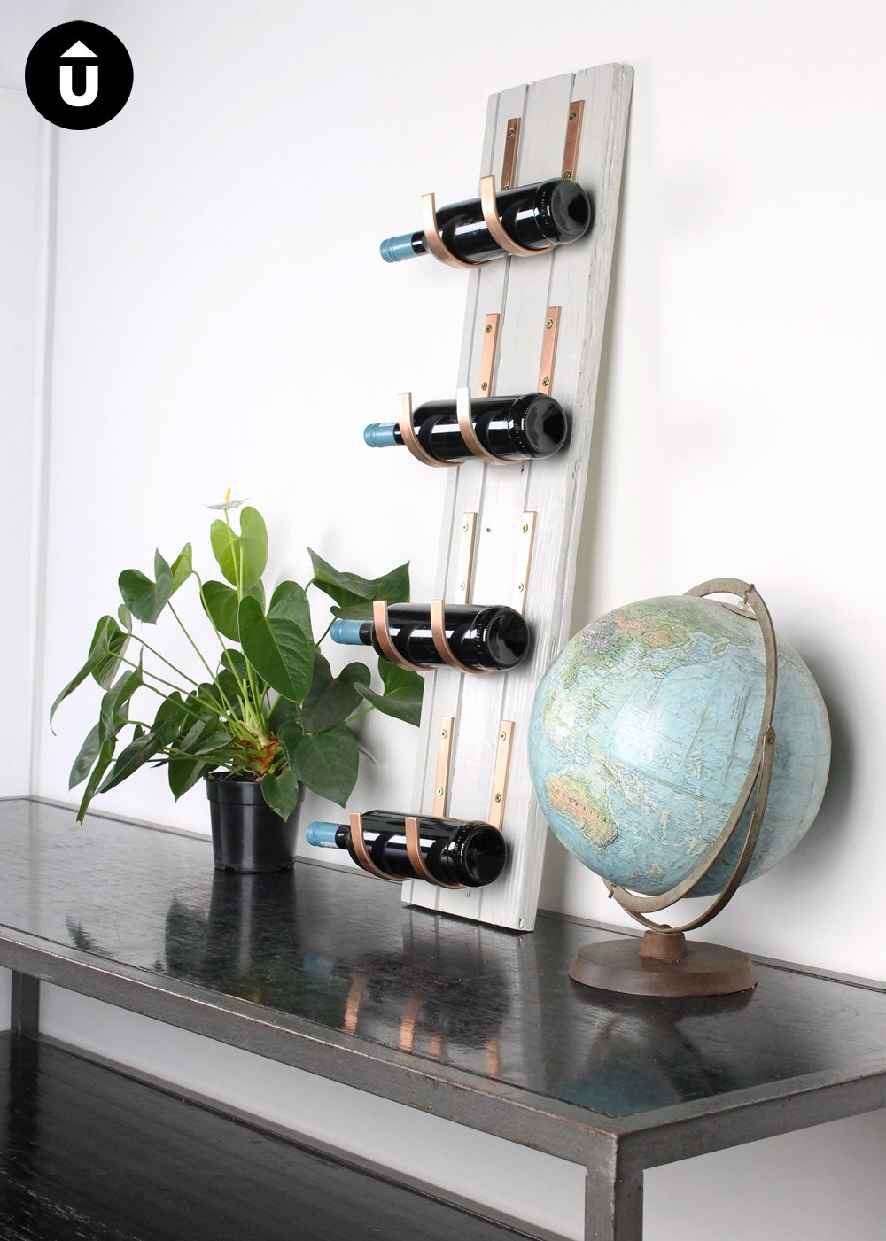 diy how shanty wine to build a chic rack