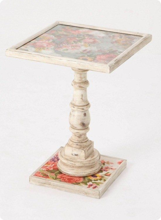 Repurpose Old Picture Frames - Side Table