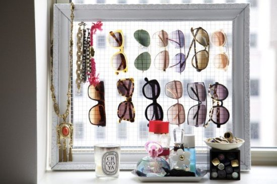 Repurpose Old Picture Frames - Sunglasses Frame