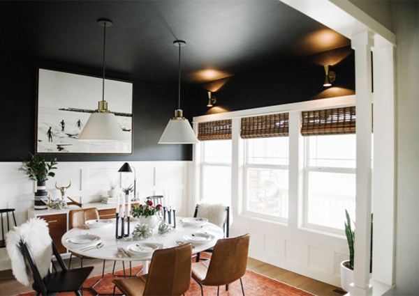10 Simple Home Decoration Ideas That Will Tempt You To Paint It Black UPCYCLIST