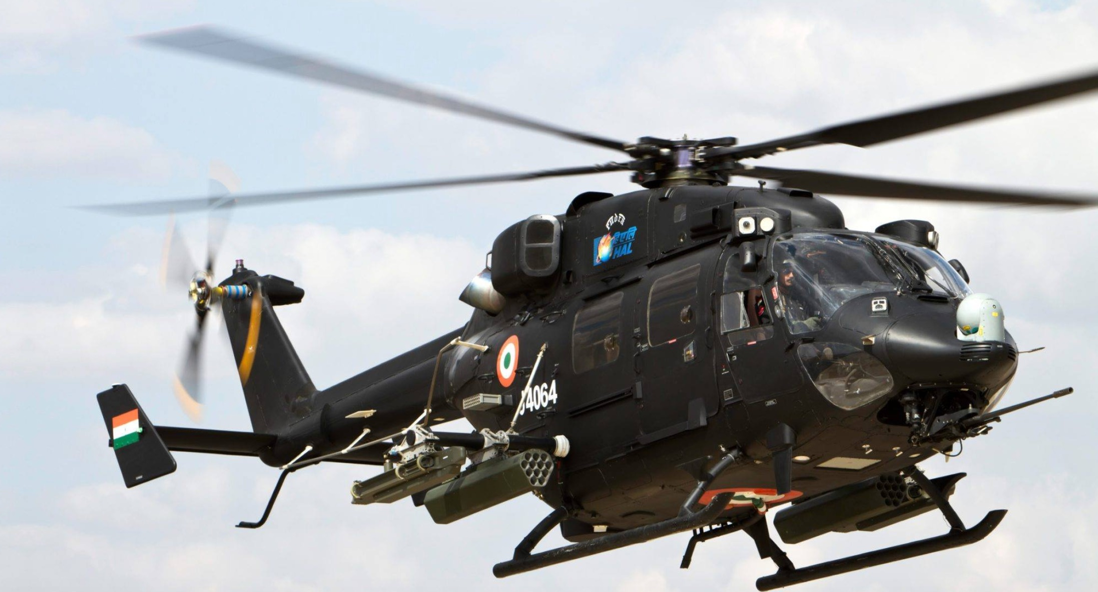 Philippine Air Force evaluate HAL Rudra Light Attack