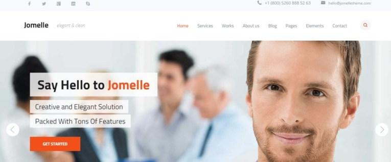 Jomelle WordPress Business Theme