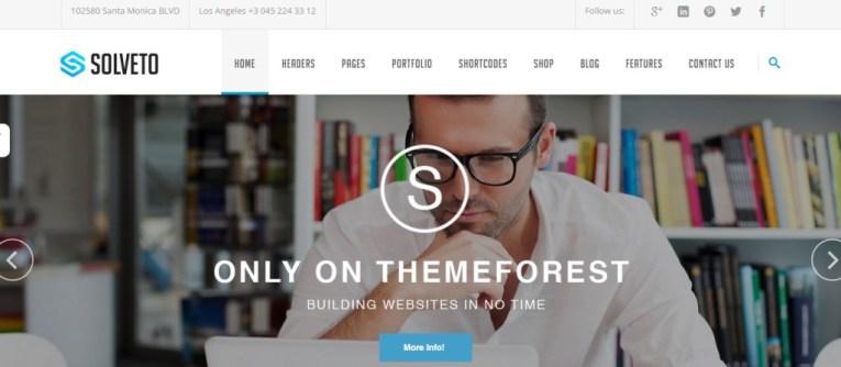 Solveto-wordpress-theme