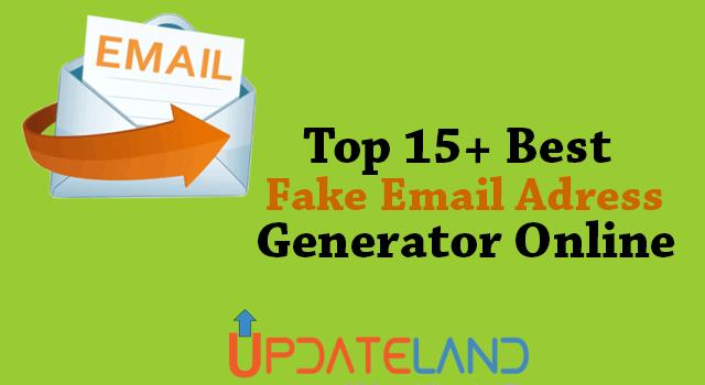 15 Best Fake Email Address Generator Online (Random Email Generator)