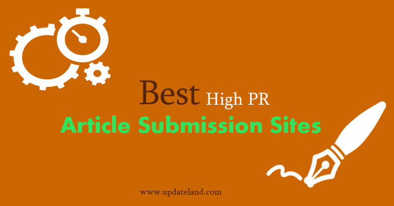 best-article-submission-sites-list