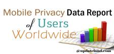 Mobile Privacy Data Report of Users Worldwide [Infographic]