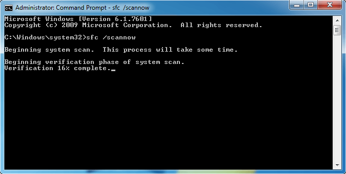 System File Checker Tool
