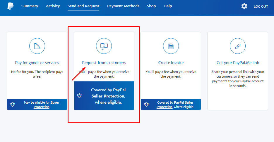 How To Send A PayPal Invoice Request Money - Invoice asap paypal