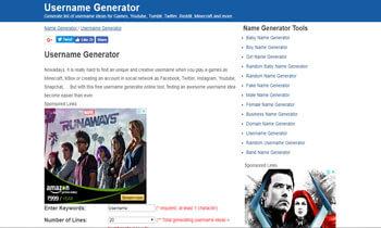 Username Generator