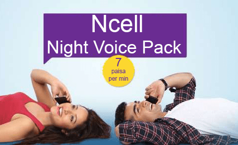Ncell Night Voice Pack | Daily Night Pack