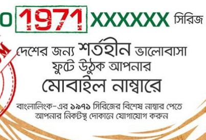 Banglalink 01971XXXXXX Special Number 110Tk Offer