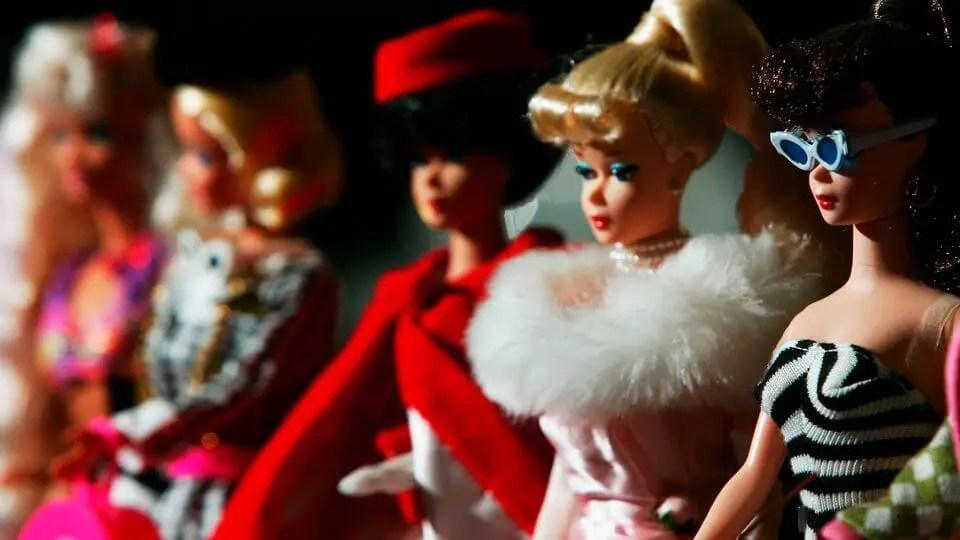 a evolucao dos action figures barbie