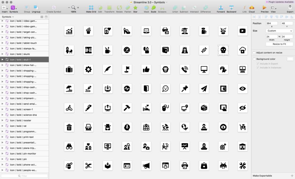 Streamline 3.0, a maior biblioteca de ícones do mundo