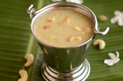 Green gram dal (Moong dal) payasam