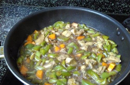 Chicken fried rice gravy