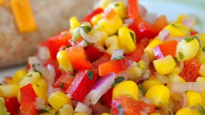 baby corn salad